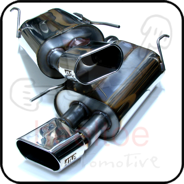 !GROUP BUY! ATLP 04-08 TL BASE Exhaust, Combo W/ V2 J-pipe