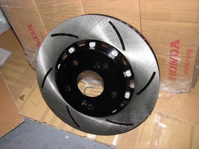 Acura TL w// Brembo 04-08 Drill Slot Brake Rotors FRONT