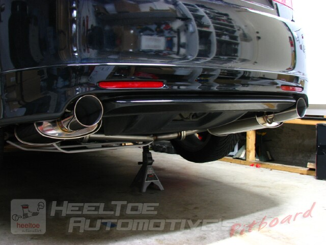 HTSpec TSX Gets An Exhaust System from Fastline Performance and