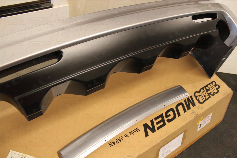 Mugen Cl Rear - 2006 acura tsx rear bumper
