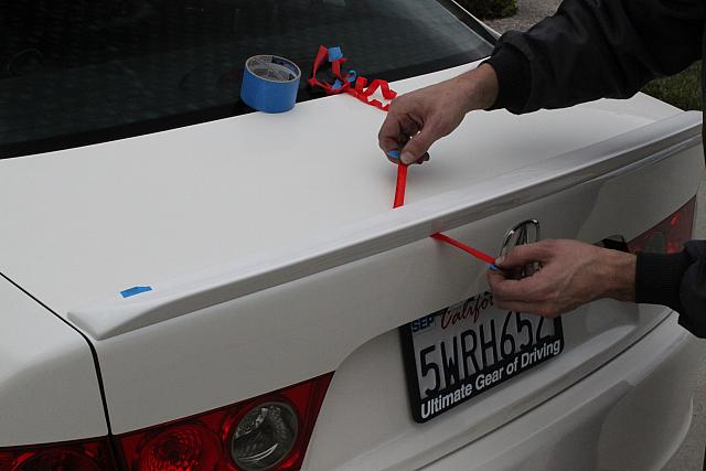How to properly install exterior parts with 3M doublesided foam