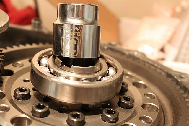 Use a large socket as a bearing or seal driver.