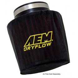 "AEM Induction Pre Filter Air Filter Wrap (6"" Base, 5-1/4"" Top and 5"" Tall), Black, 1-4000"