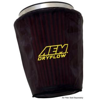"AEM Induction Pre Filter Air Filter Wrap (Oval Tapered 10-1/2"" x 7-1/2"" Base, 9-1/2"" x 7"" Top and 9"" Tall), Black, 1-4004"