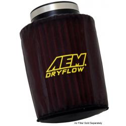 "AEM Induction Pre Filter Air Filter Wrap (6"" Base, 5-1/8"" Top and 7-1/8"" Tall), Black, 1-4007"
