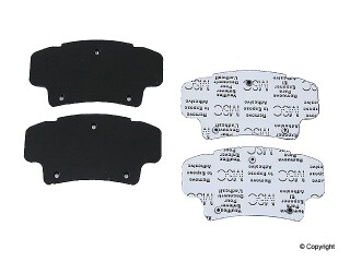BBP brand Front Brake Pad Shim, Pack of 4, 2004-08 Acura TSX CL9