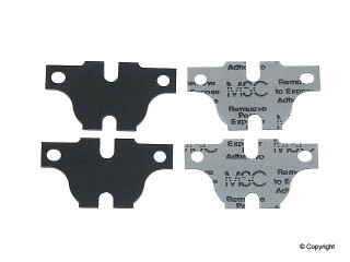 BBP brand Rear Brake Pad Shim, Pack of 4, 2004-08 Acura TSX CL9