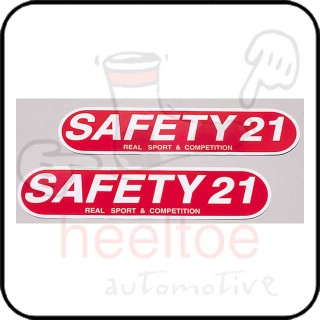 Cusco 'Safety21' Decal, 70x300mm, AA30