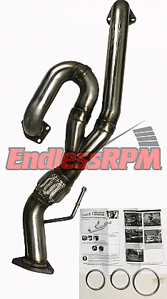 EndlessRPM J-pipe, 2009-14 Acura TL Base FWD